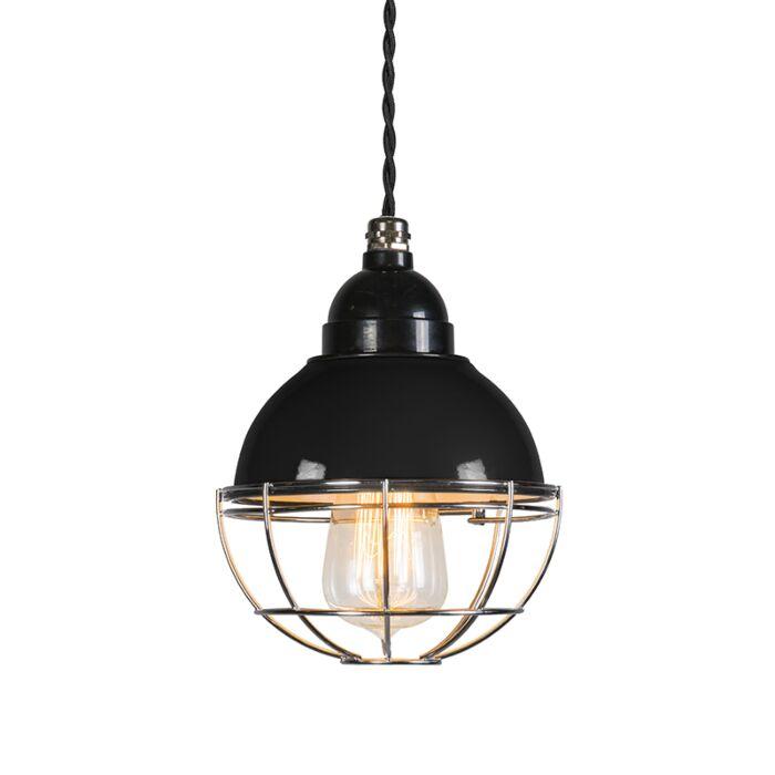 Lámpara-colgante-HARBOR-negro