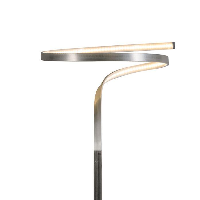 Lámpara-de-pie-KINK-acero