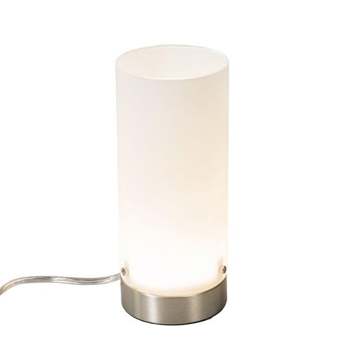 Lámpara-de-mesa-TUBE-blanca