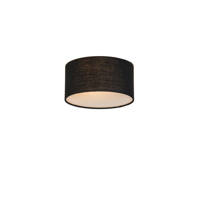 Plafón-Drum-Basic-20-negro