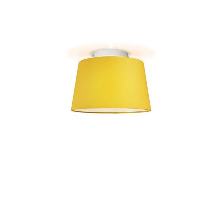 Plafón-TON-cónico-30-amarillo