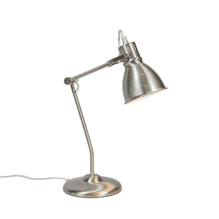 Lámpara-de-mesa-GOBLET-níquel