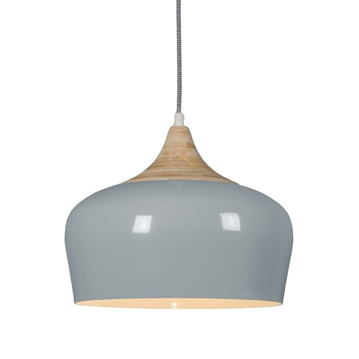 Lámpara-colgante-PINE-gris