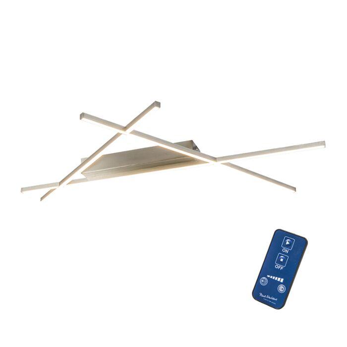 Plafón-MIKADO-triángulo-acero