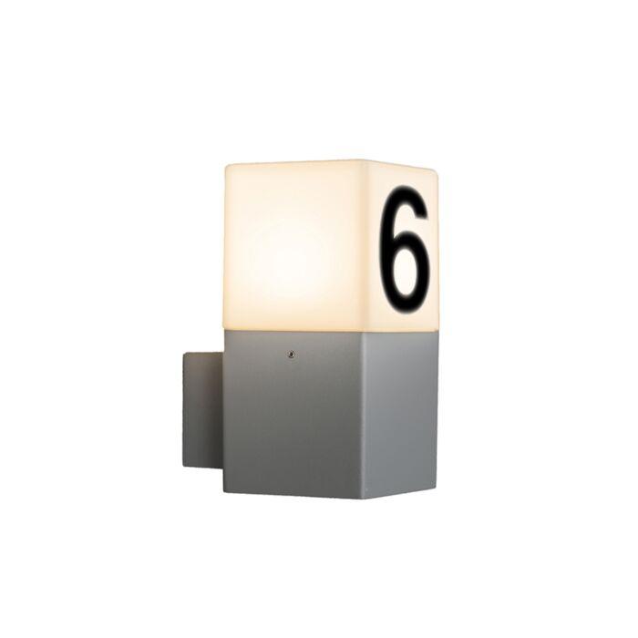 Aplique-moderno-gris-IP44-pegatinas-núm---DENMARK