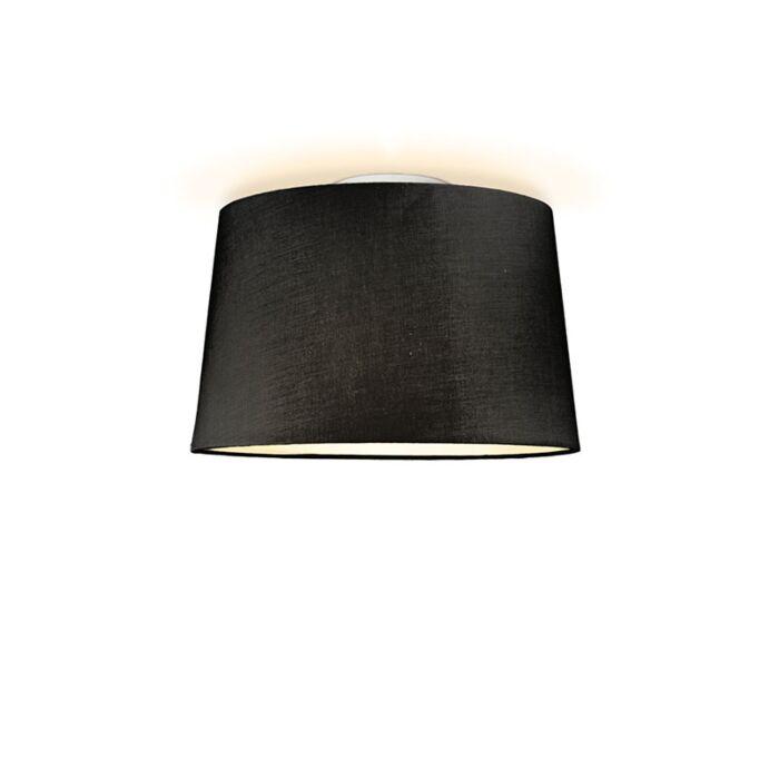 Plafón-TON-cónico-40-negro