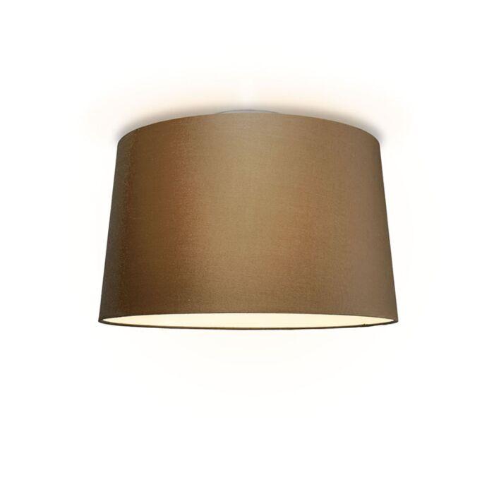 Plafón-TON-cónica-50-marrón