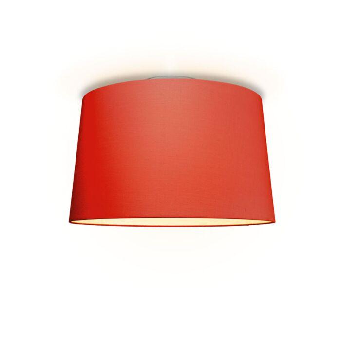 Plafón-TON-cónica-50-rojo