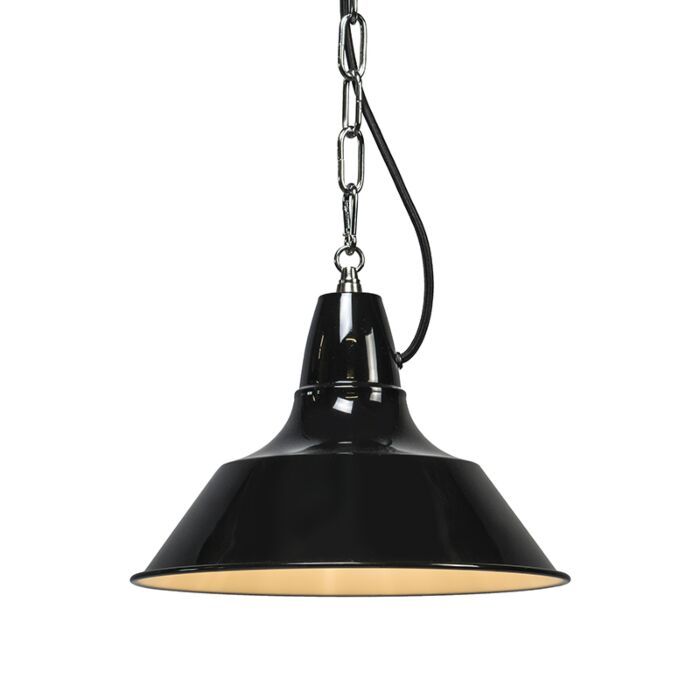 Lámpara-colgante-GESTEL-negra