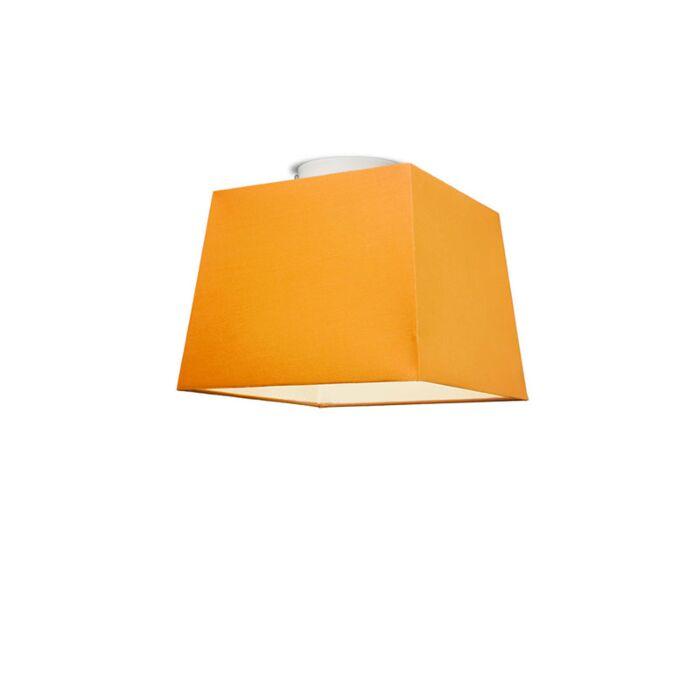 Plafón-TON-piramidal-30-naranja