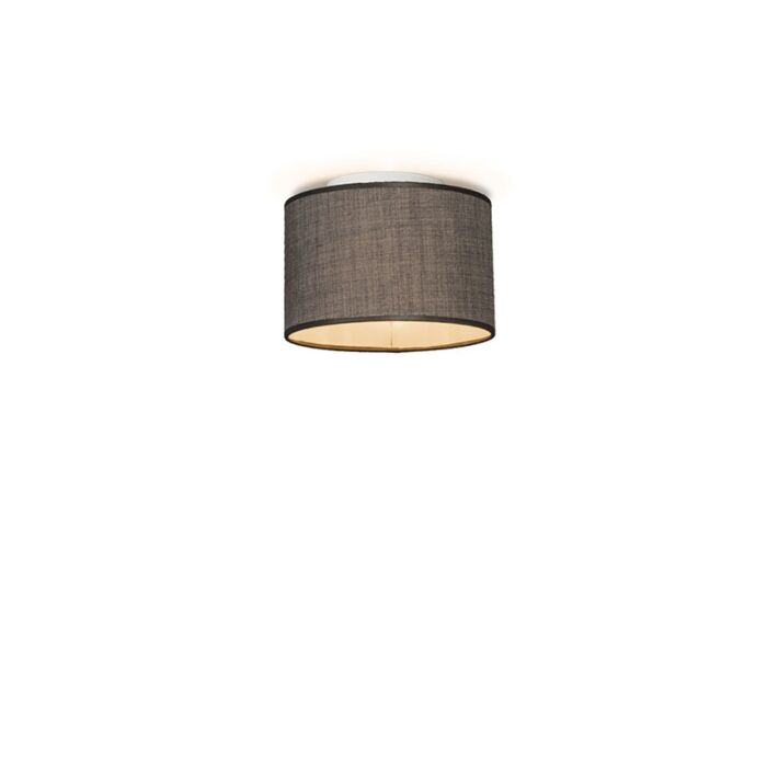 Plafón-DRUM-20-marrón-grisáceo