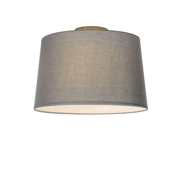 Plafón-COMBI-40cm-gris-con-difusor