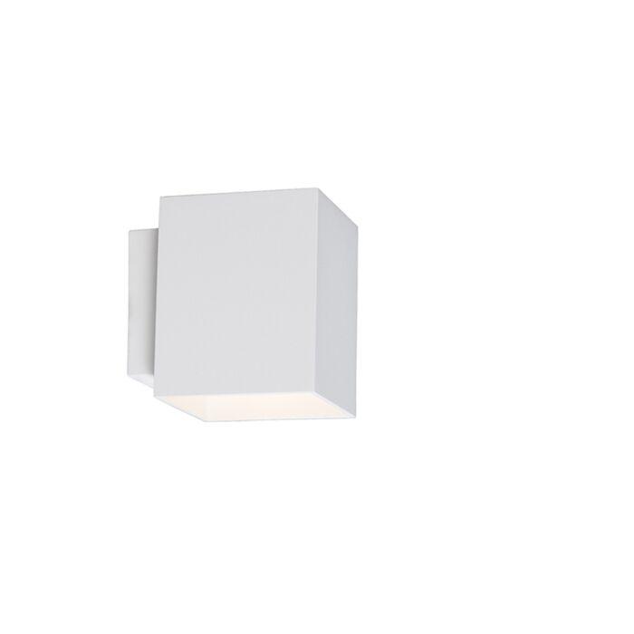 Aplique-moderno-cuadrado-blanco---SOLA