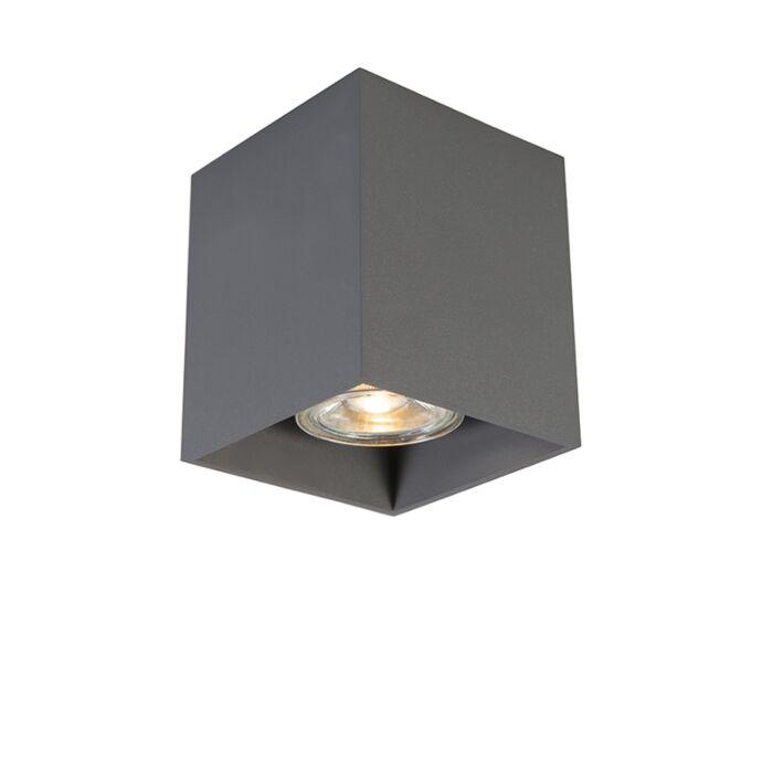 Foco-moderno-gris-oscuro---QUBO-1