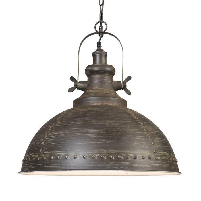 Lámpara-colgante-RAVI-marrón
