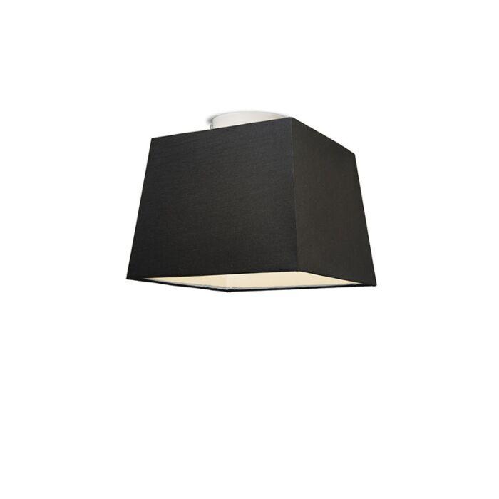 Plafón-TON-piramidal-30-negro