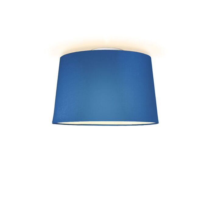 Plafón-TON-cónico-40-azul