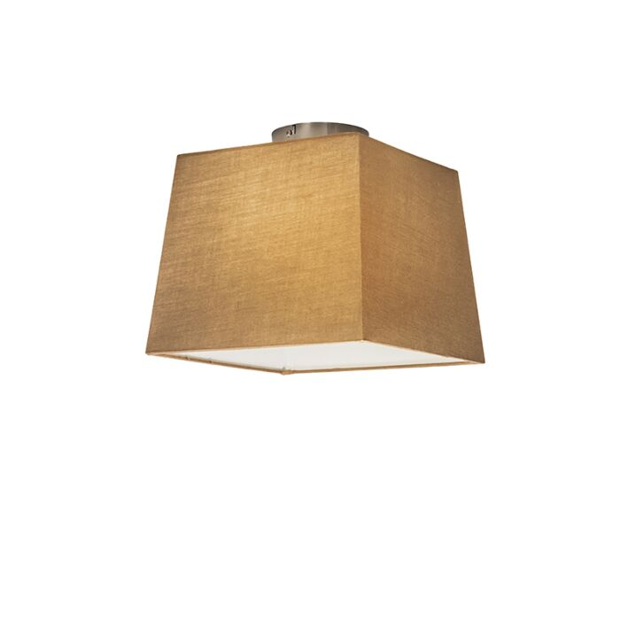 Plafón-COMBI-30cm-piramidal-beige