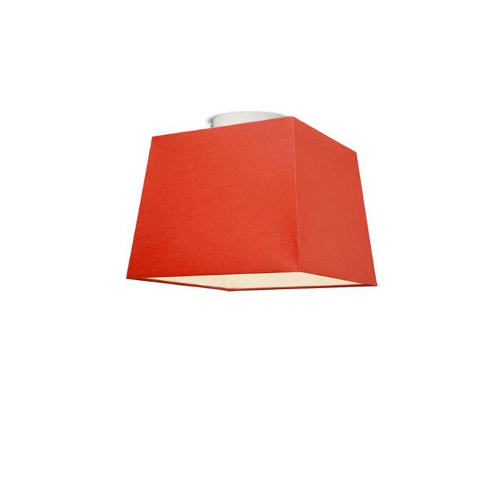 Plafón-TON-piramidal-30-rojo