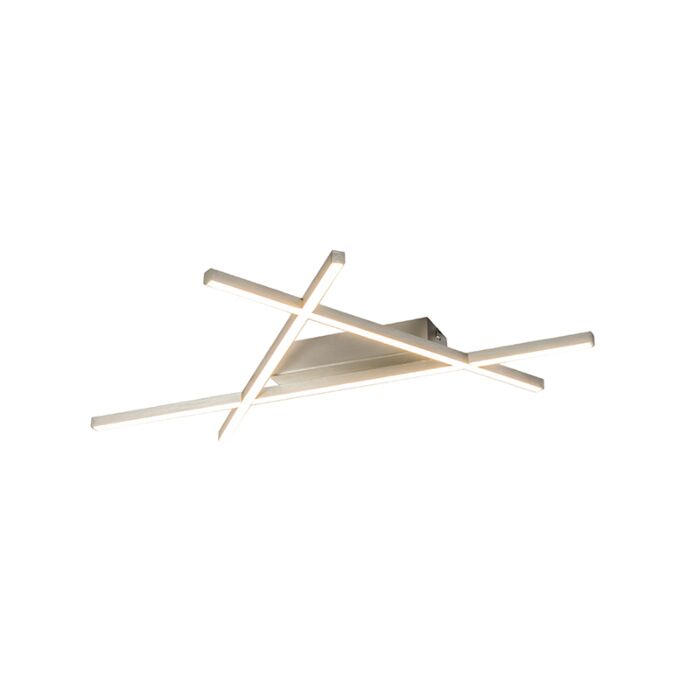 Plafón-diseño-acero-LED---MIKADO-Triangle-