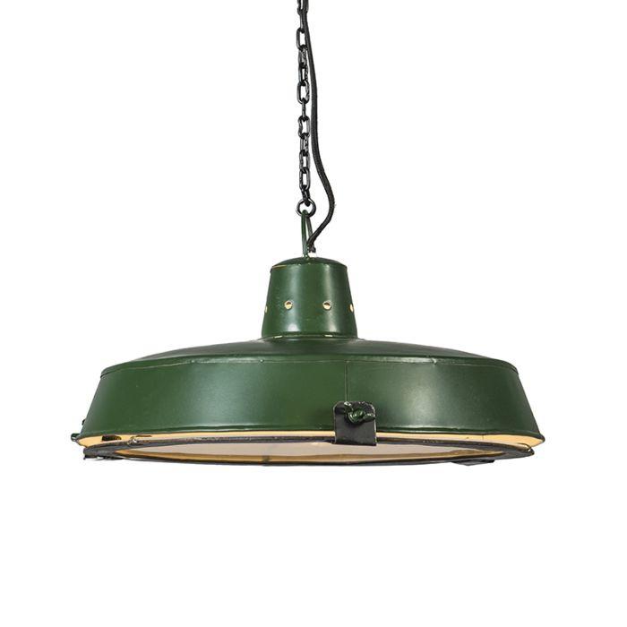 Lámpara-colgante-STURDY-verde