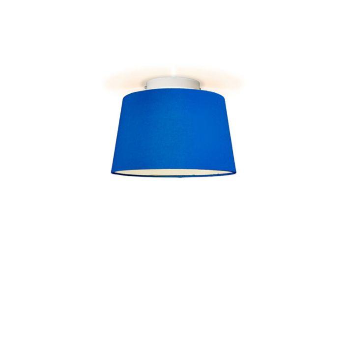 Plafón-TON-cónico-30-azul