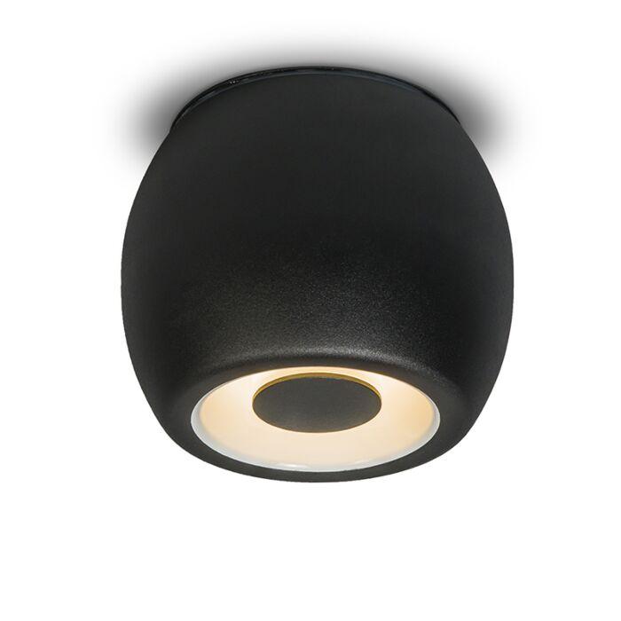 Plafón-/-Foco-FONDO-negro