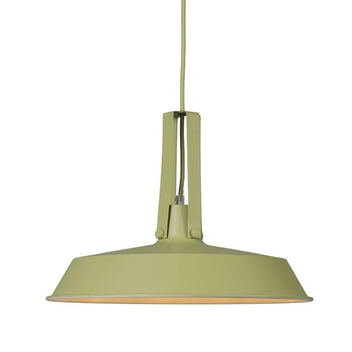 Lámpara-colgante-LIVING-40cm-verde-menta