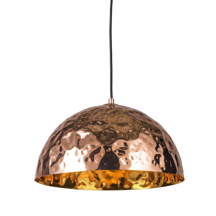 Lámpara-colgante-DENTS-40-cobre