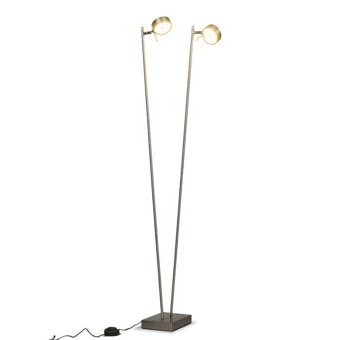 Lámpara-de-pie-LOUPE-2-acero