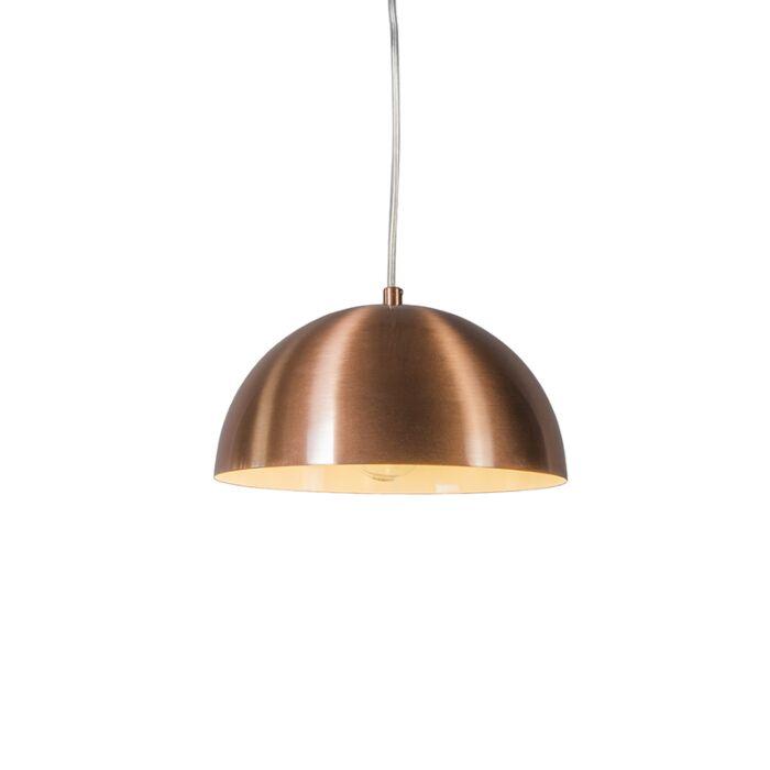 Lámpara-colgante-MAGNA-25-cobre-mate