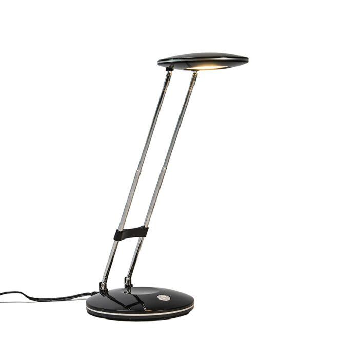Lámpara-de-mesa-DISCUS-negra