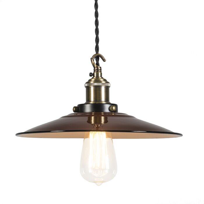 Lámpara-colgante-SKIPPER-Deluxe-marrón