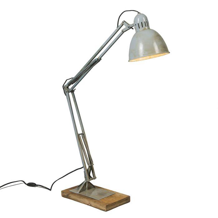 Lámpara-de-mesa-BASE-gris