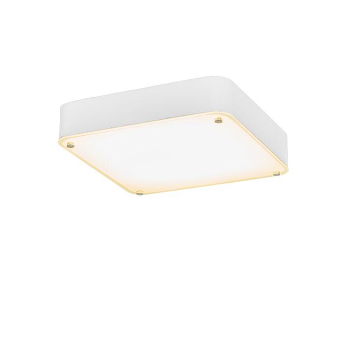 Plafón-DREAM-35-cuadrado-blanco