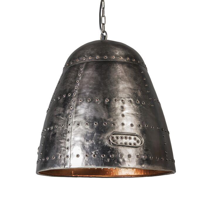 Lámpara-colgante-STEAMPUNK-acero