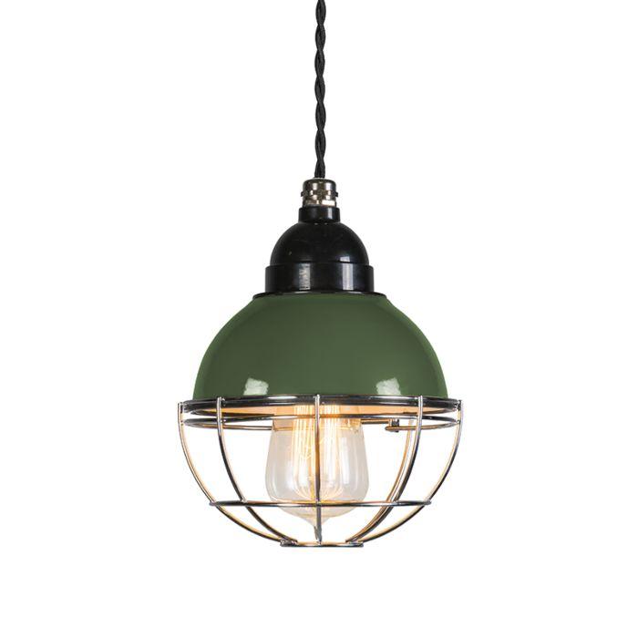 Lámpara-colgante-HARBOR-verde