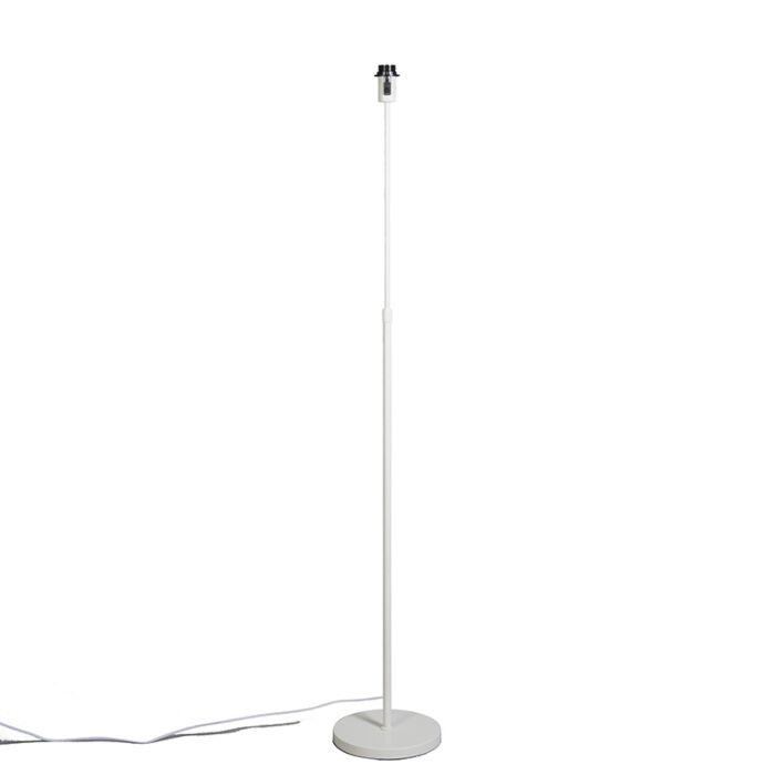 Lámpara-de-pie-blanca-ajustable---Parte