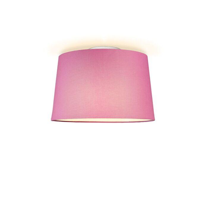 Plafón-TON-cónico-40-rosa
