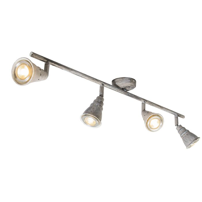 Plafón-gris-orientable-4-luces---CONEY-4