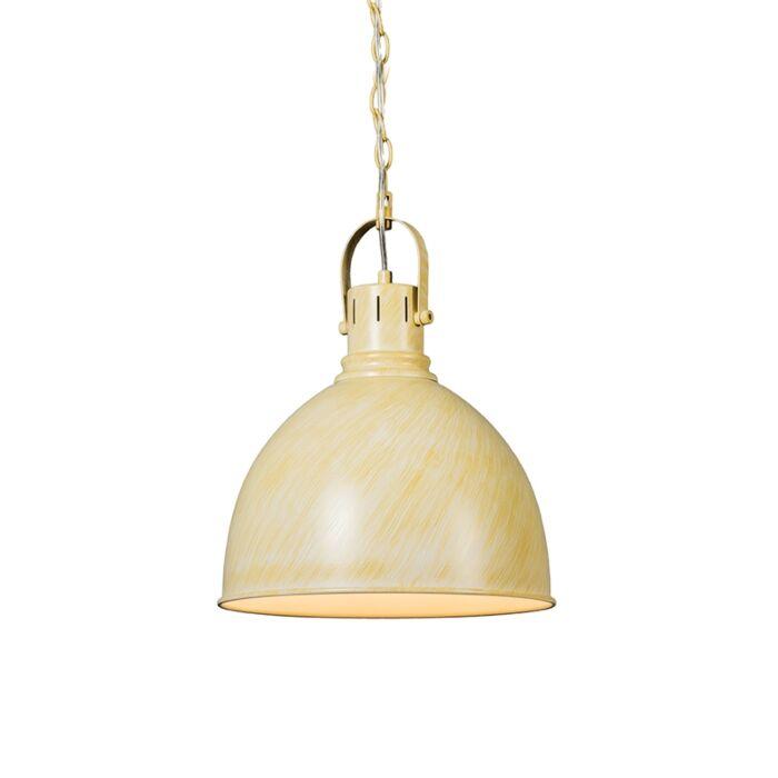 Lámpara-colgante-GOBLET-blanco-envejecido
