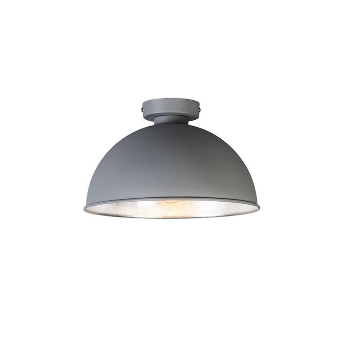 Plafón-moderno-redondo-gris---MAGNA-Basic