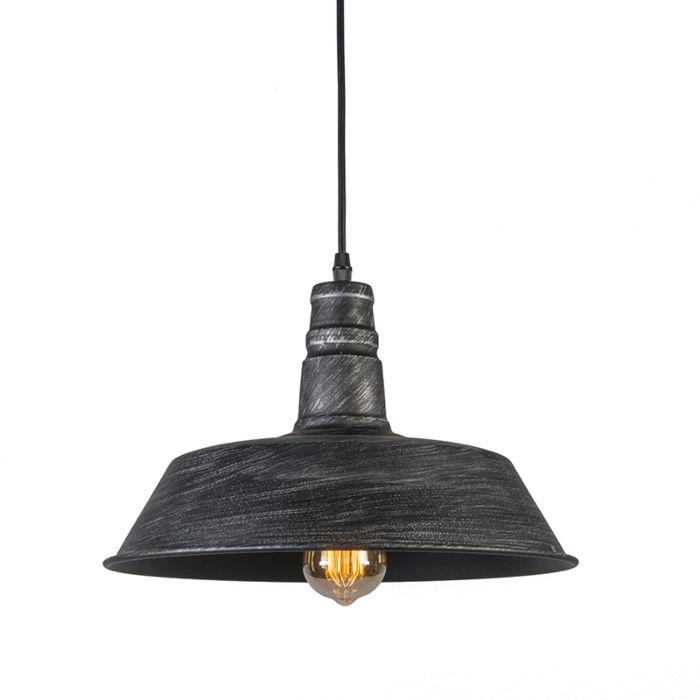Lámpara-colgante-FORCE-negra