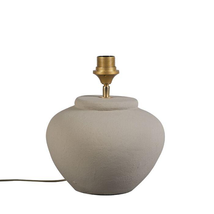Lámpara-de-mesa-PALMA-XS-gris