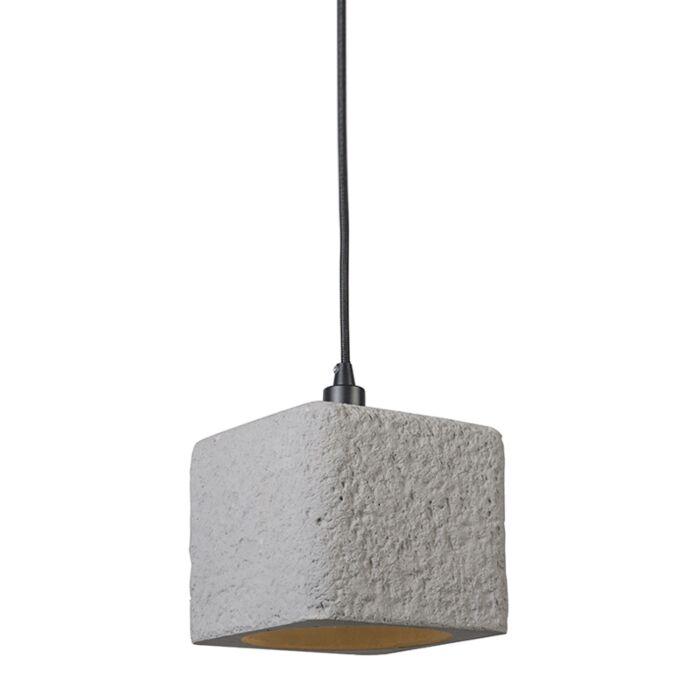 Lámpara-colgante-BLOC-hormigón