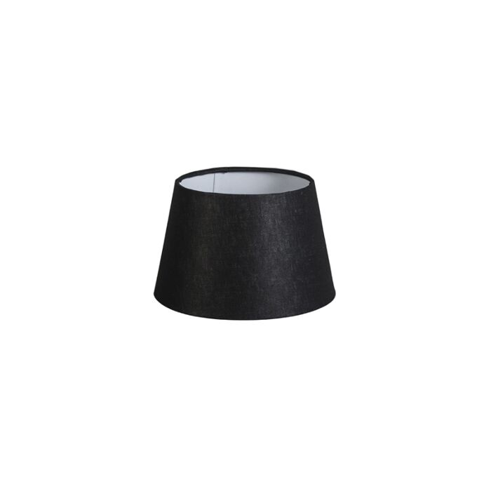 Pantalla-20cm-cónica-DS-E27-lino-negra