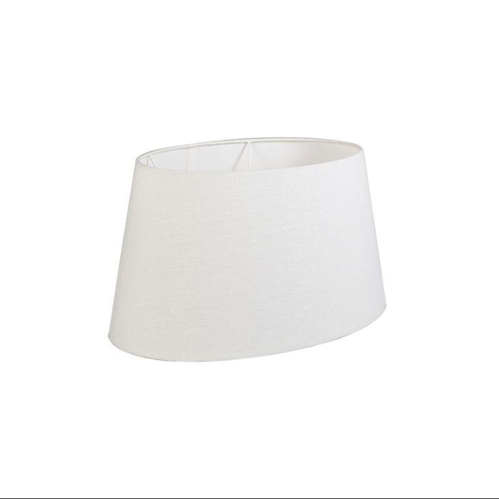 Pantalla-50/38/28-ovalada-SD-lino-blanco-hueso