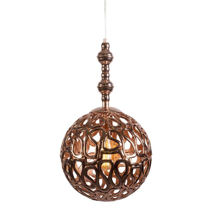 Lámpara-colgante-PHARAOH-30-cobre