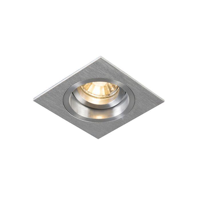 Foco-empotrado-cuadrado-aluminio-orientable---CHUCK