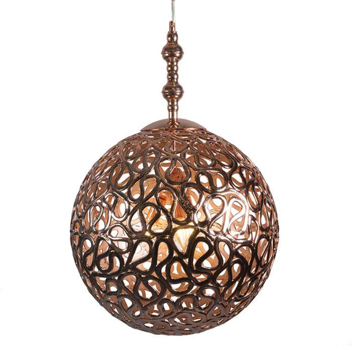 Lámpara-colgante-PHARAOH-50-cobre